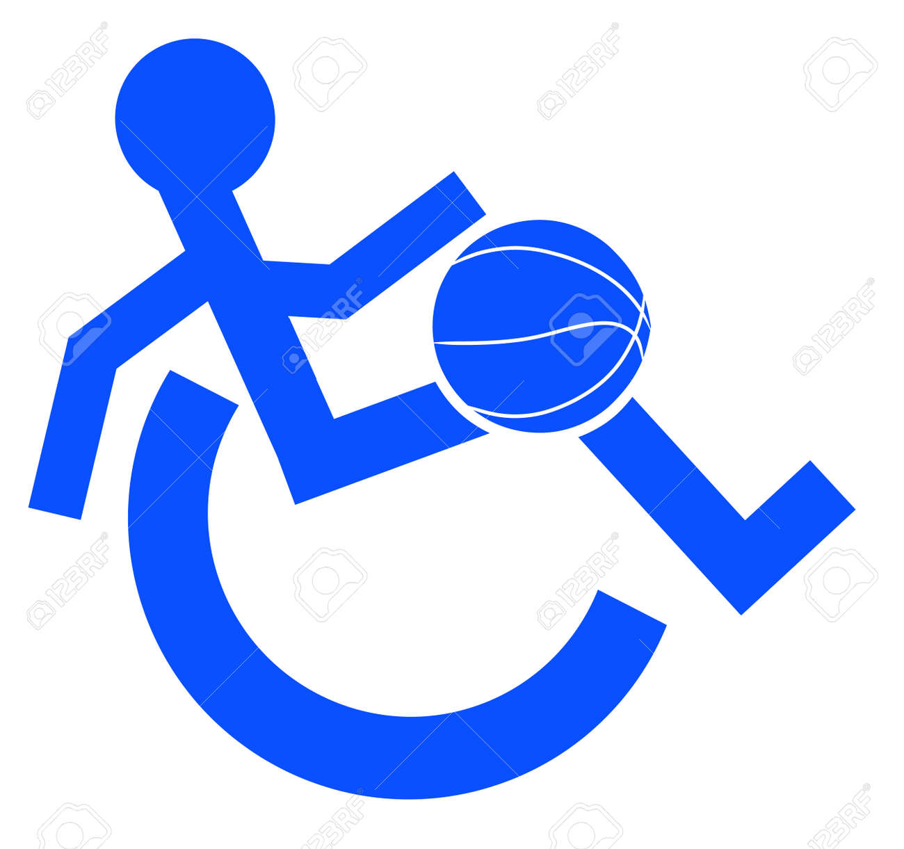 Logo Or Symbol For Wheelchair Accessible Sports Or Activities ...