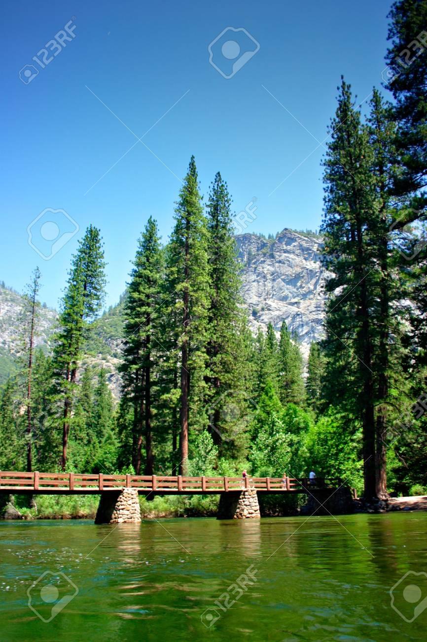The Yosemite Valley in Yosemite National Park, California Stock Photo - 652761
