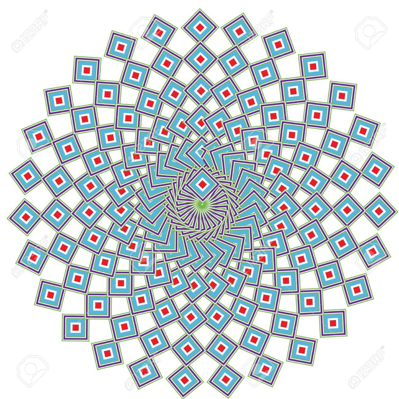 geometric ethnic mandala Stock Vector - 10851524