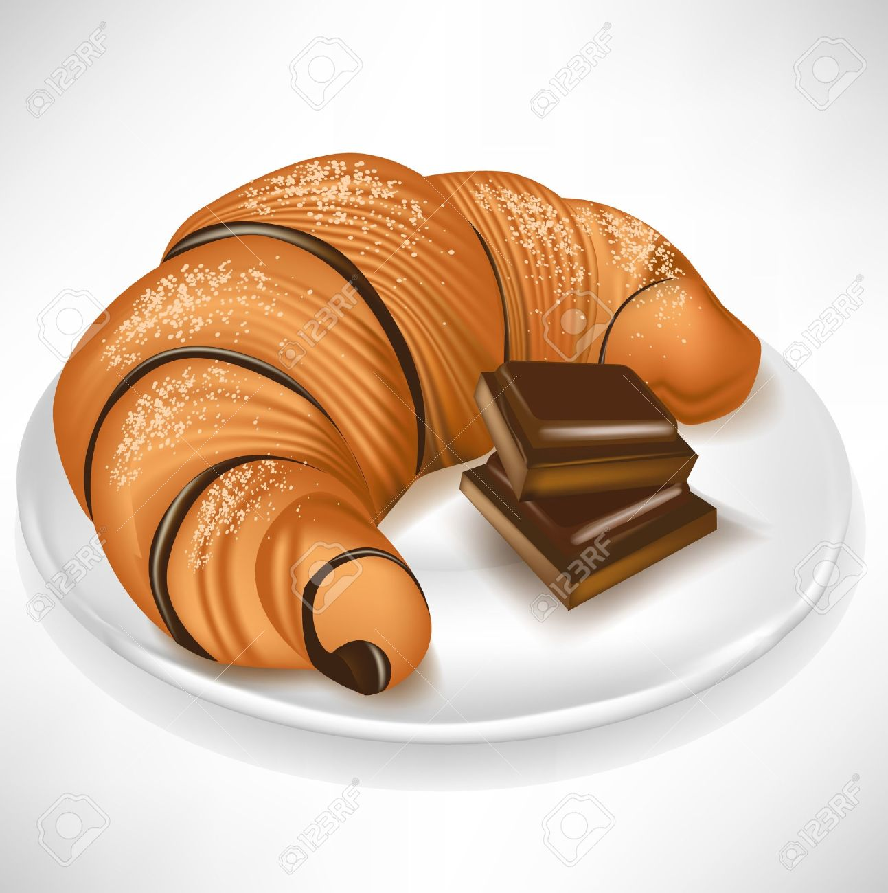 Croissant Chocolate Stock Photos & Pictures. Royalty Free ...