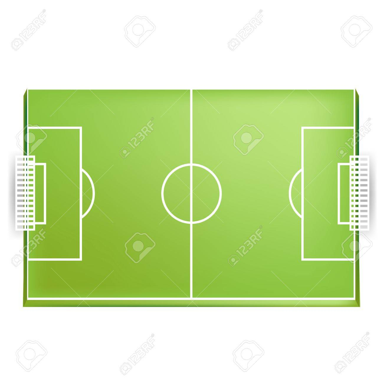 soccer field or football field from above view isolated royalty free rh 123rf com football field vector 3d american football field vector free