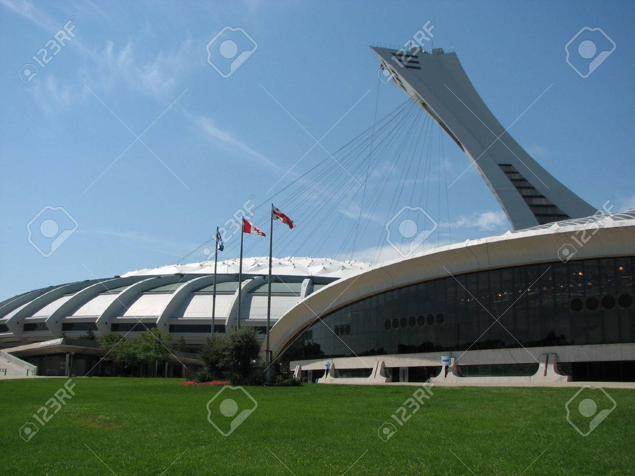 Montreal Olympic Games Montreal Olympic Stadium Used