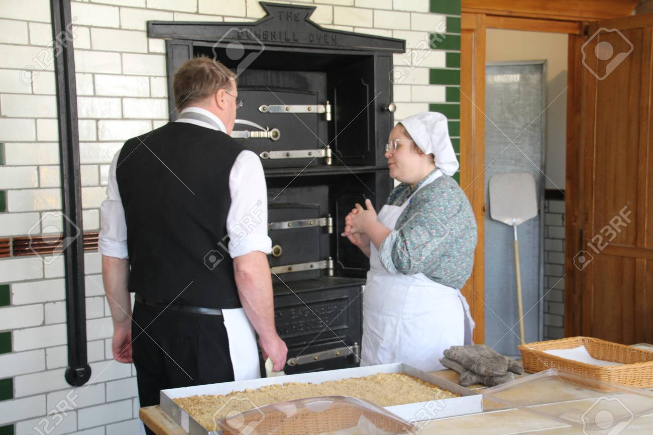 The.. Robust laughs from women serving in the Wandin North bakery can be heard a few doors down.