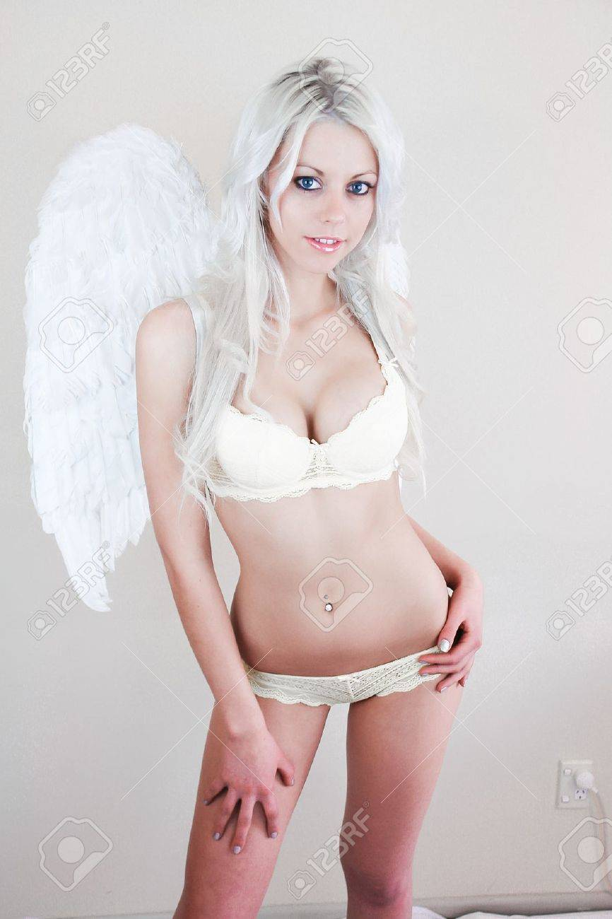 Gorgeous Sexy Lingerie Angel, Ideal For Event Flyers And ...