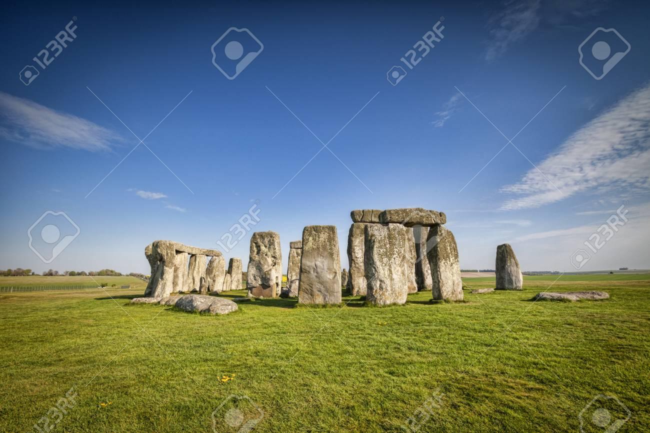 Stonehenge in Spring - 101768569