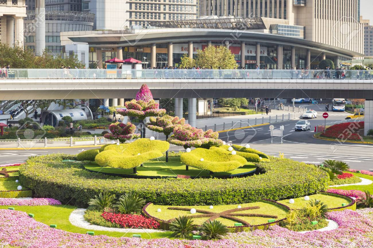 Topiary Garden Shanghai China Stock Photo Picture And Royalty Free Image Image 150994655
