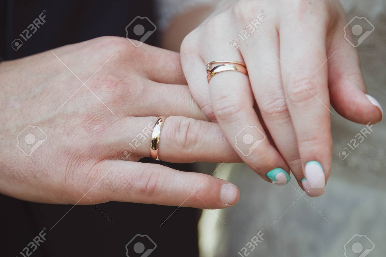 Wedding Ring Exchange Stock Photo Picture And Royalty Free Image
