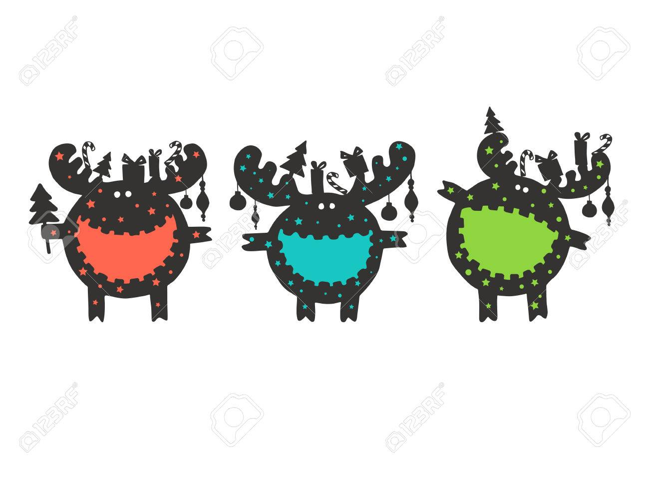 Funny Moose Wishes Merry Christmas. Christmas Wishes For An Amazing ...