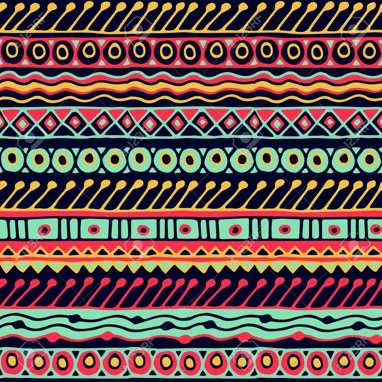 ethnizitt nahtlose muster boho stil ethnische tapete tribal kunstdruck alte abstrakte grenzen - Boho Muster