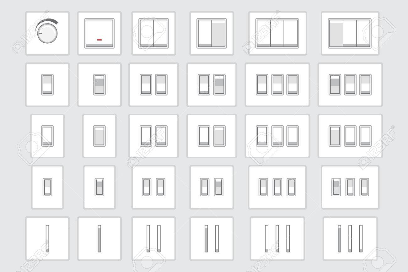 Light Switch Types >> Collection Of Different Light Switch Types