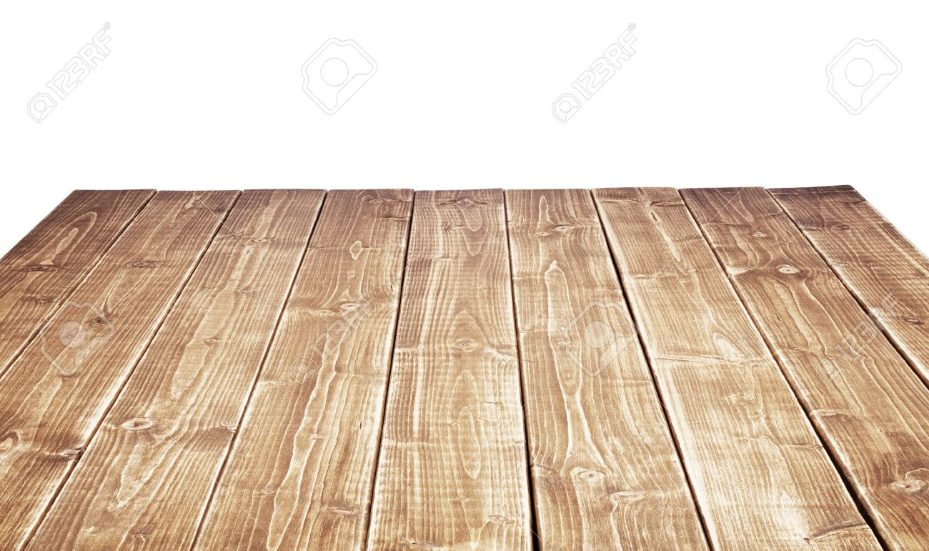 Empty Wooden Table Top Stock Picture And Royalty Free Image