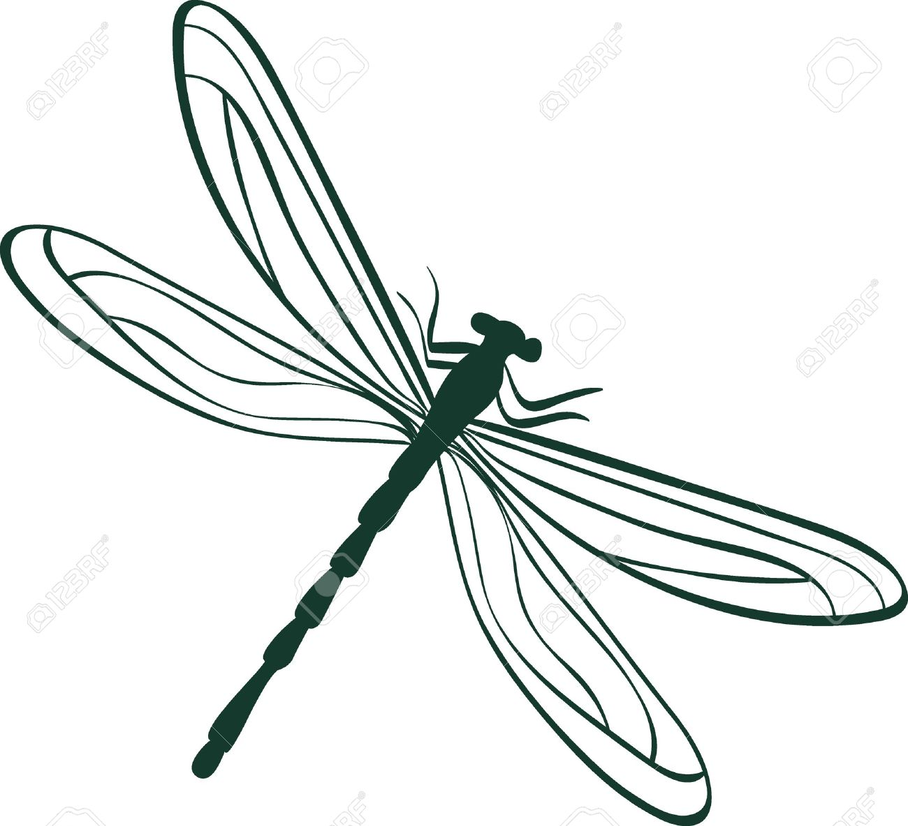 dragonfly tattoo designs stock photos royalty free dragonfly