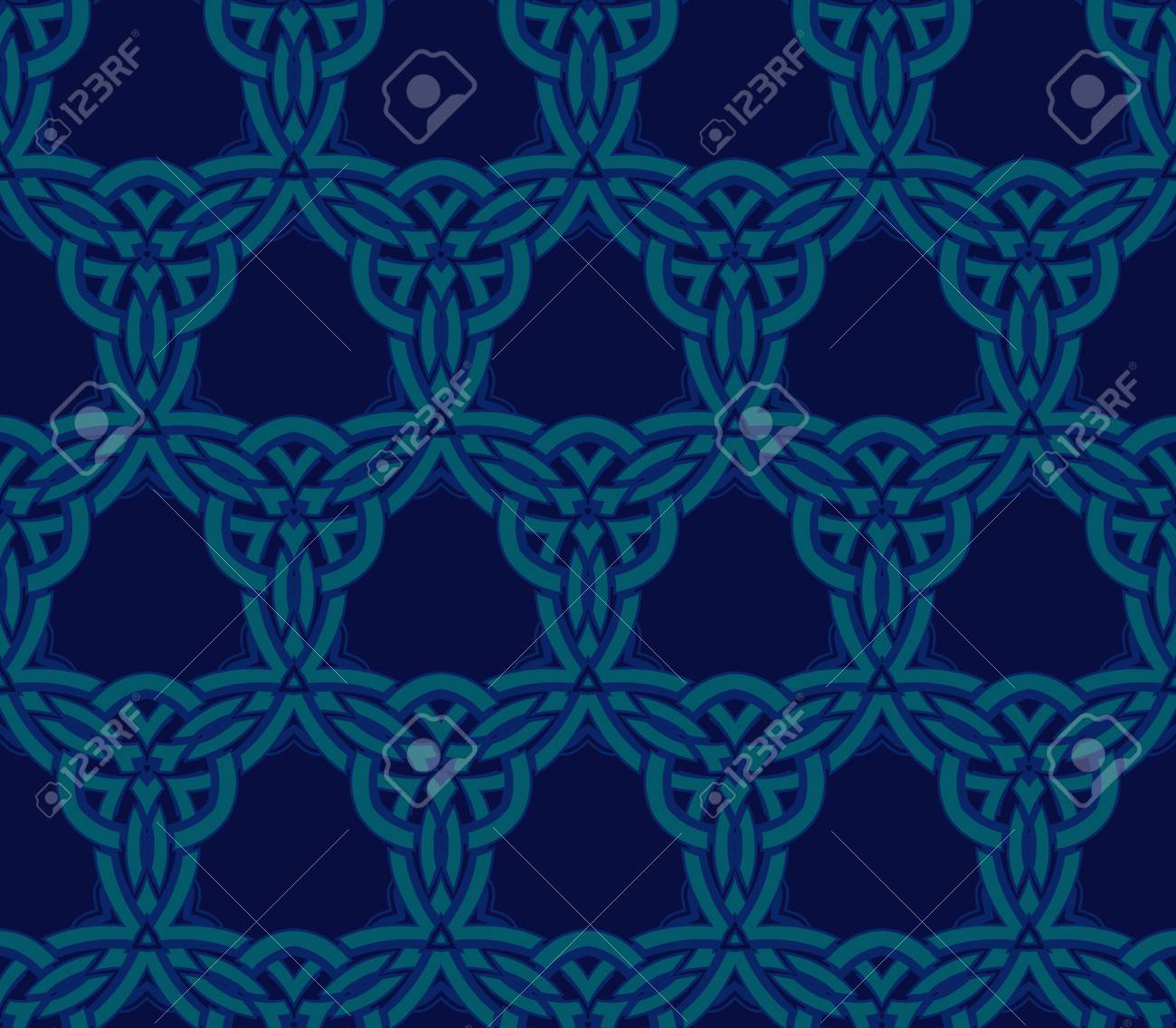 abstract pattern wallpaper seamless background Stock Vector - 14387035