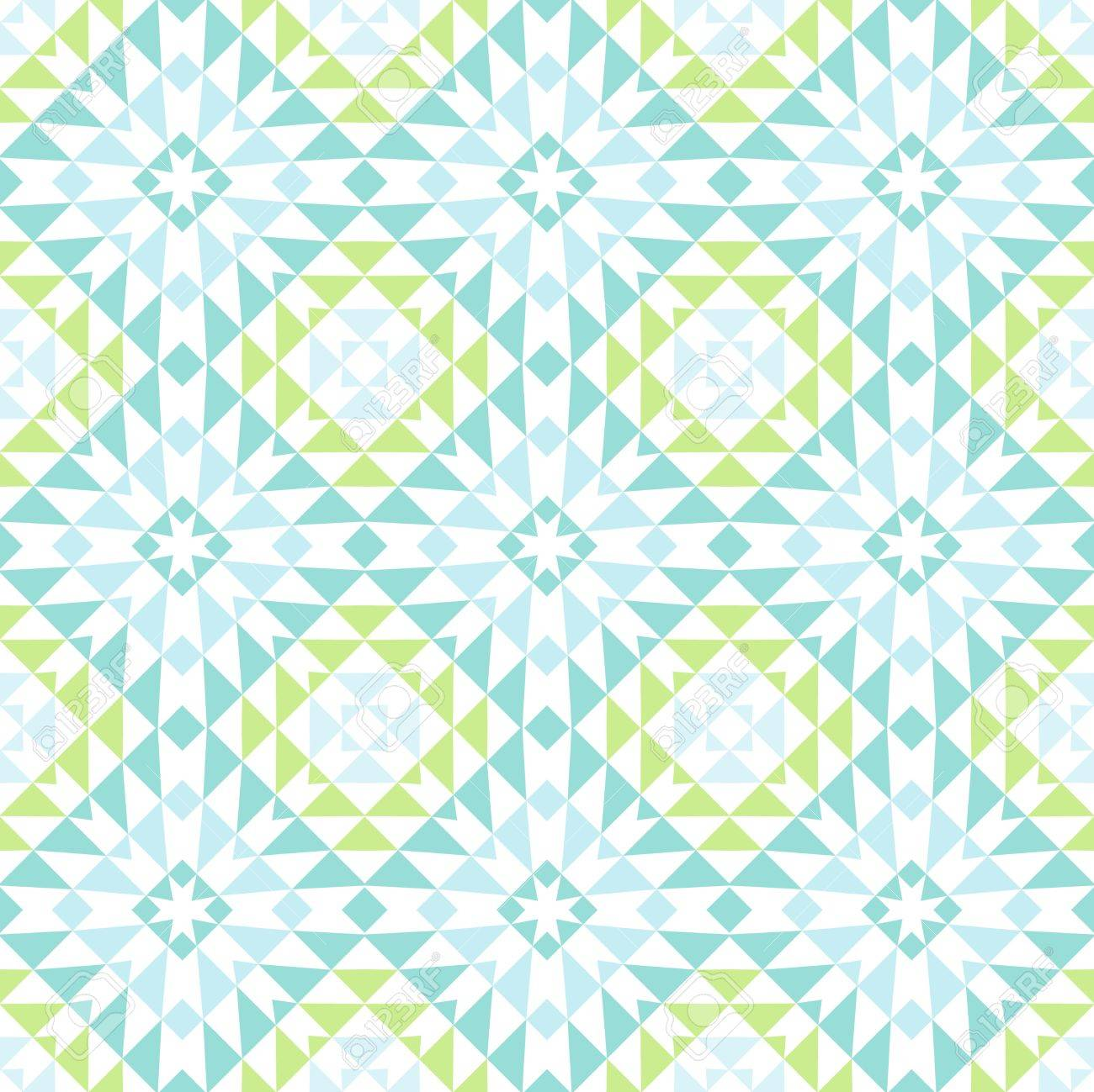 abstract vintage geometric wallpaper pattern seamless background Stock Vector - 15031141
