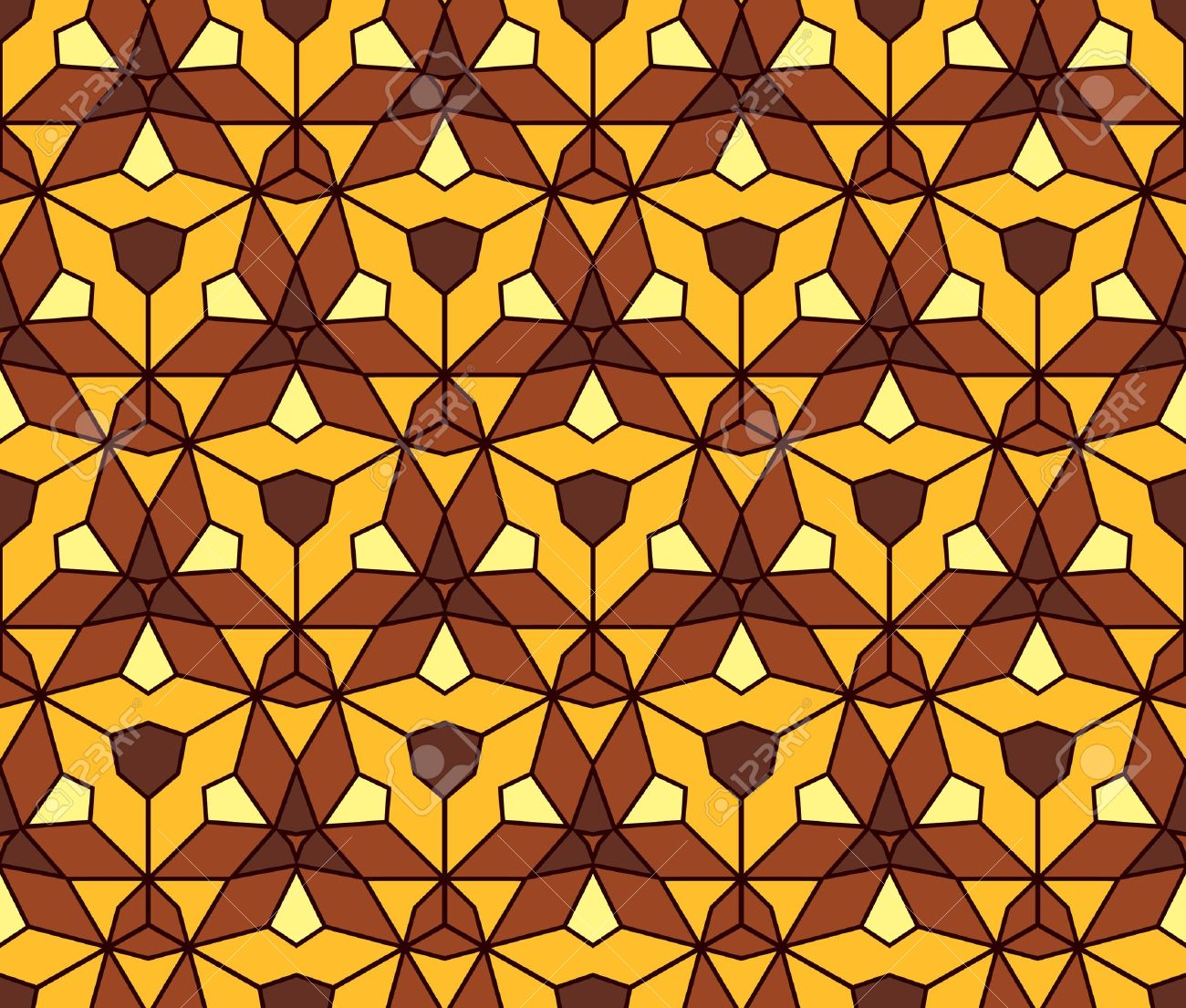 abstract vintage geometric wallpaper pattern seamless background  Vector illustration Stock Vector - 15488294