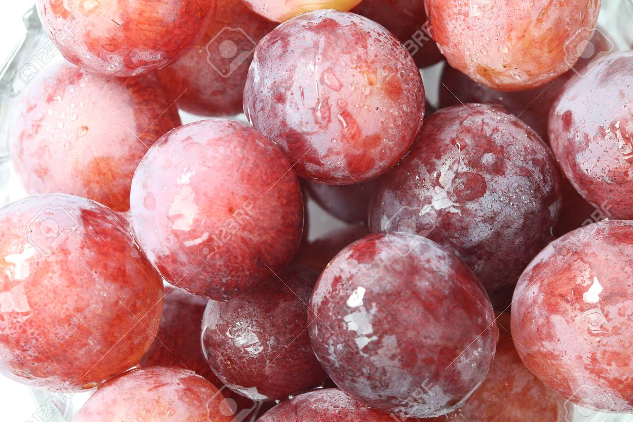 Grapes closeup macro background Stock Photo - 15737975