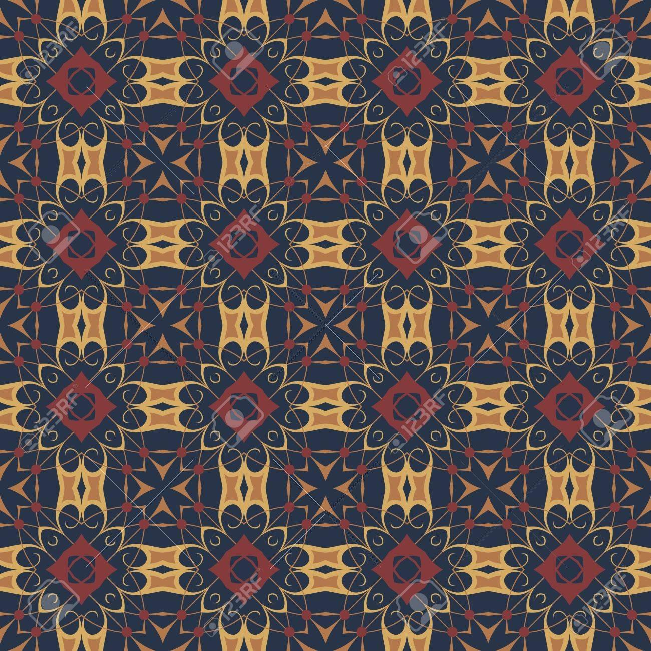 ethnic modern geometric seamless pattern ornament background print design Stock Vector - 15982086