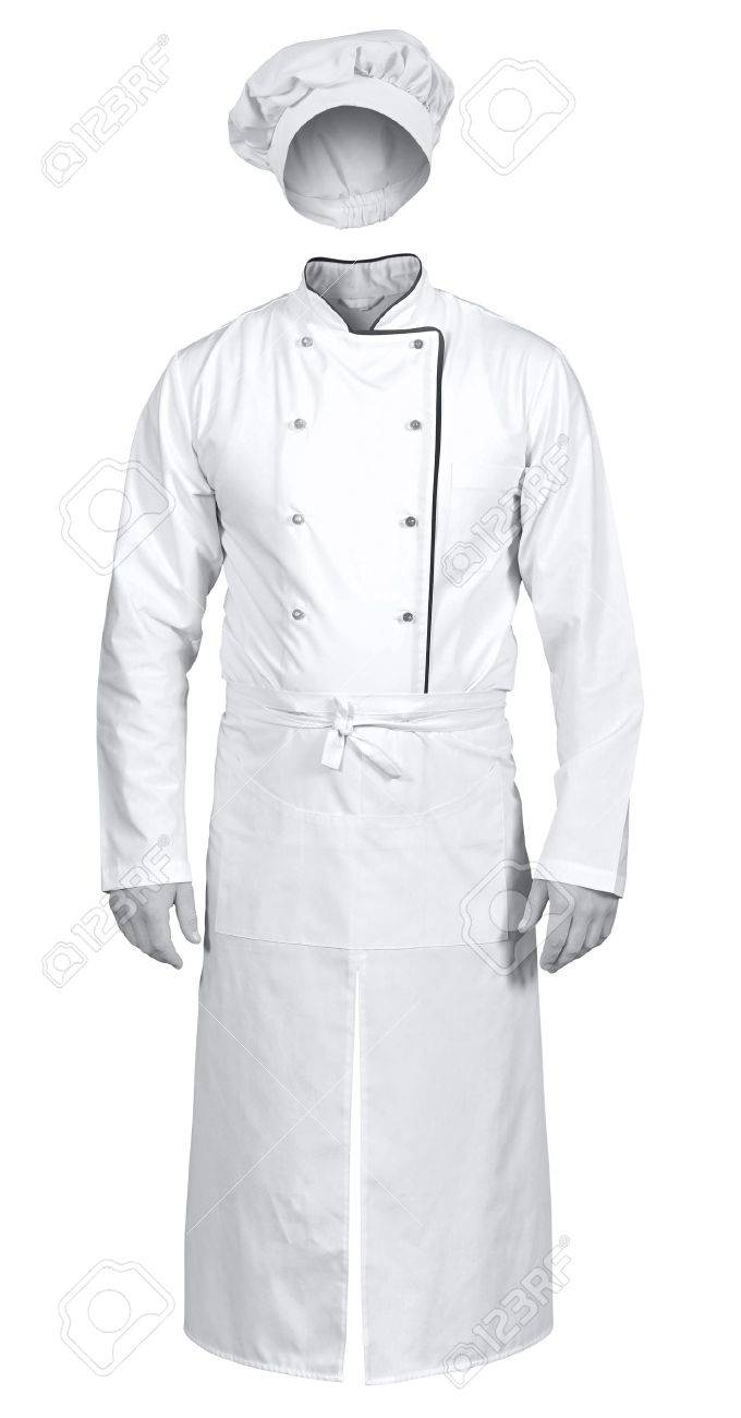 White apron chef