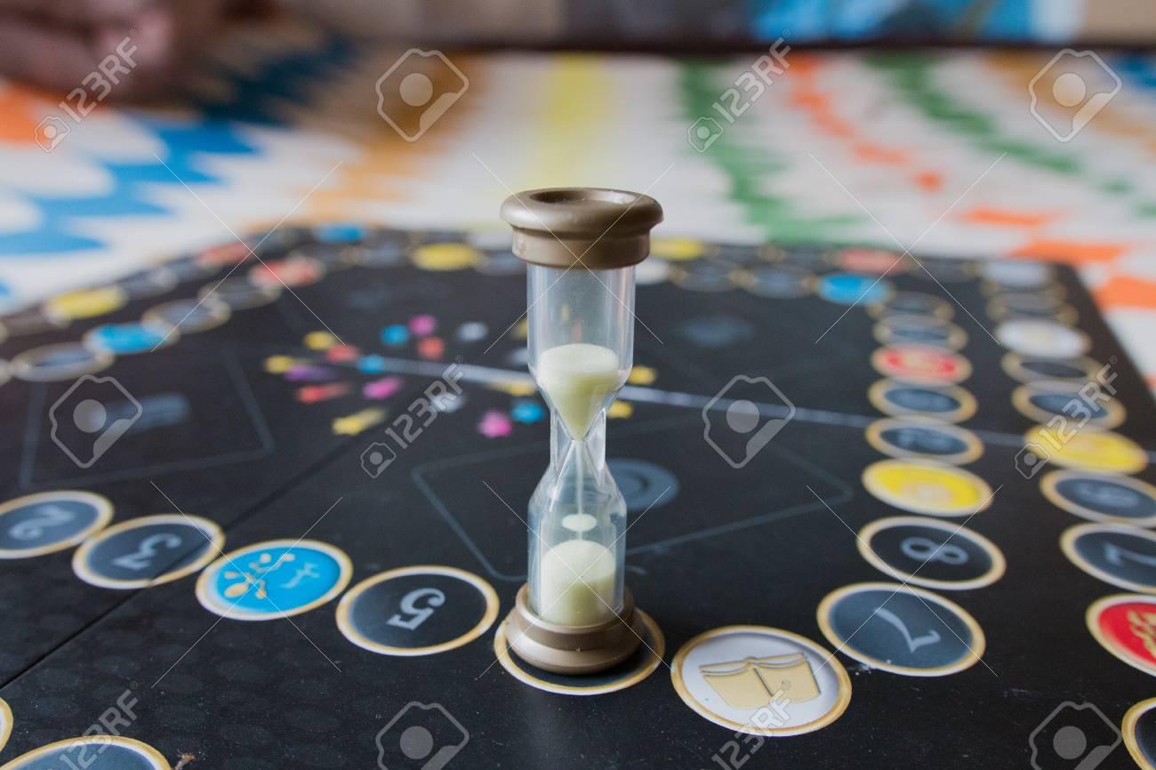 sablier jeux de société