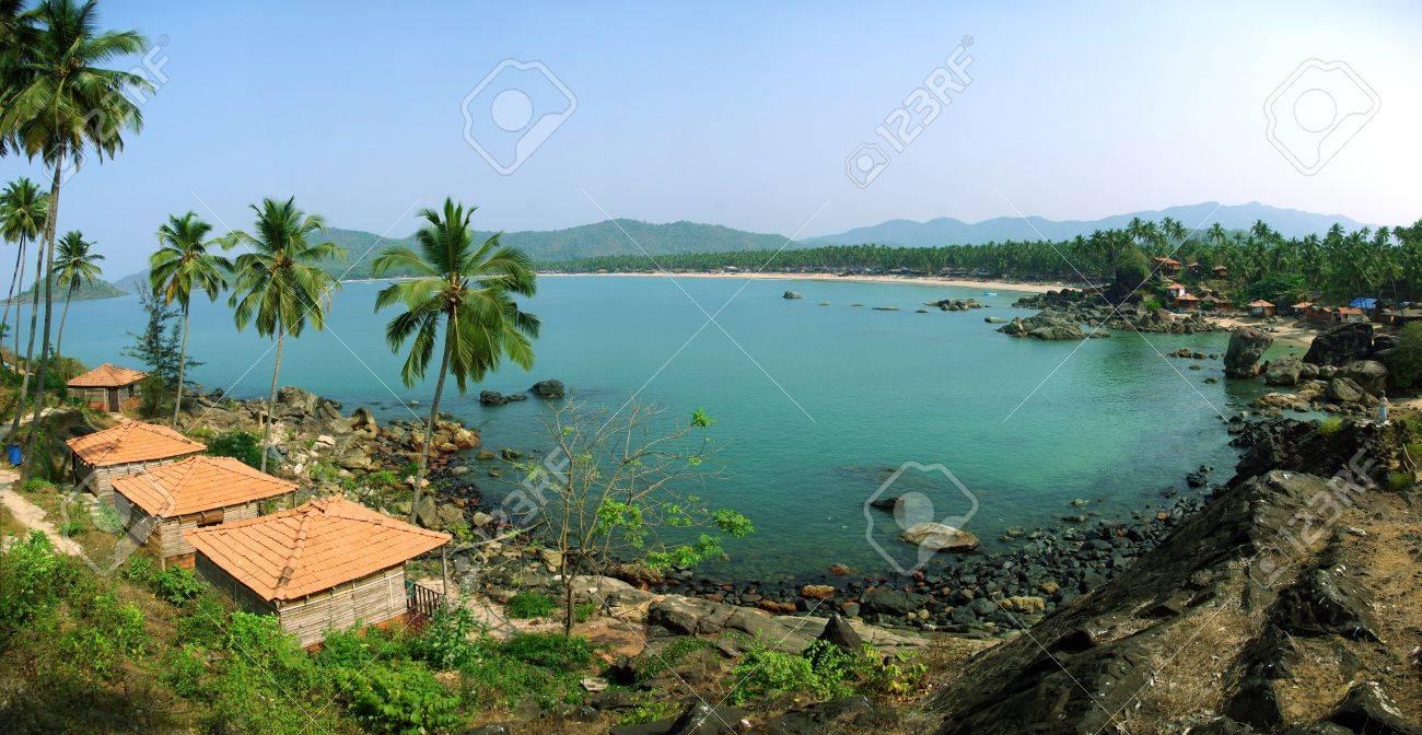 Palolem Beach lagoon, Goa Stock Photo - 13704385