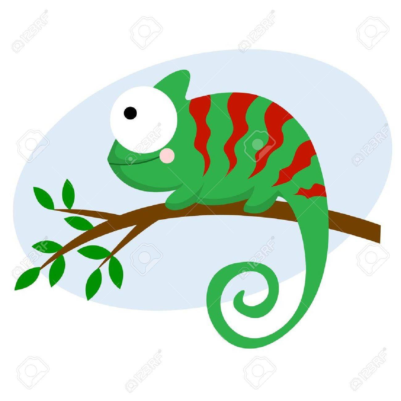 Chameleon Stock Vector - 21051145