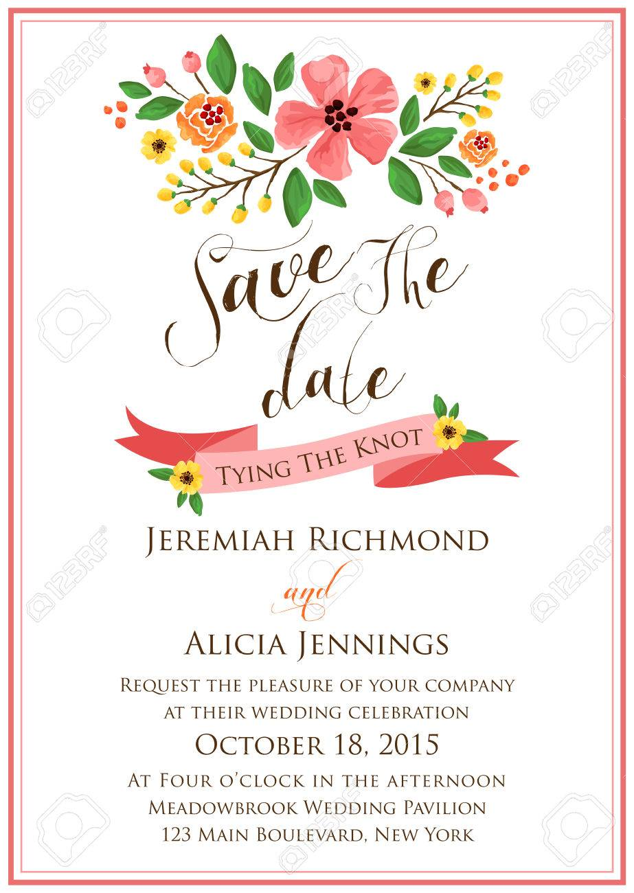 412,638 Wedding Invitations Stock Vector Illustration And Royalty ...
