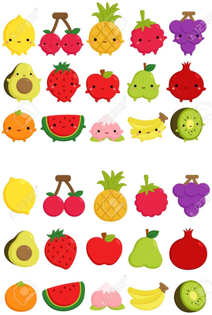 Cute Fruit Icon - 57125971