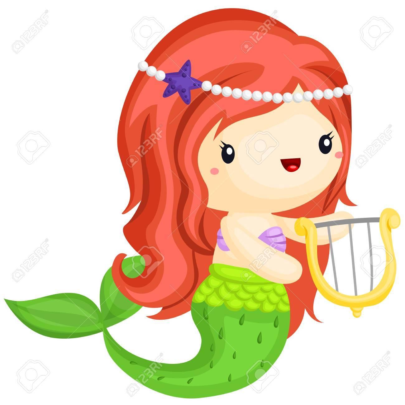 Happy Mermaid - 88265605