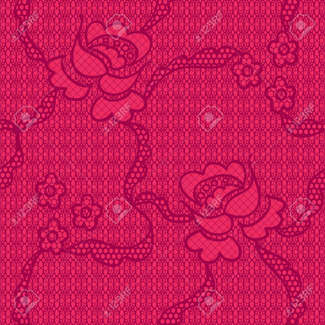 Flowers Seamless Pattern Stock Vector - 13104014