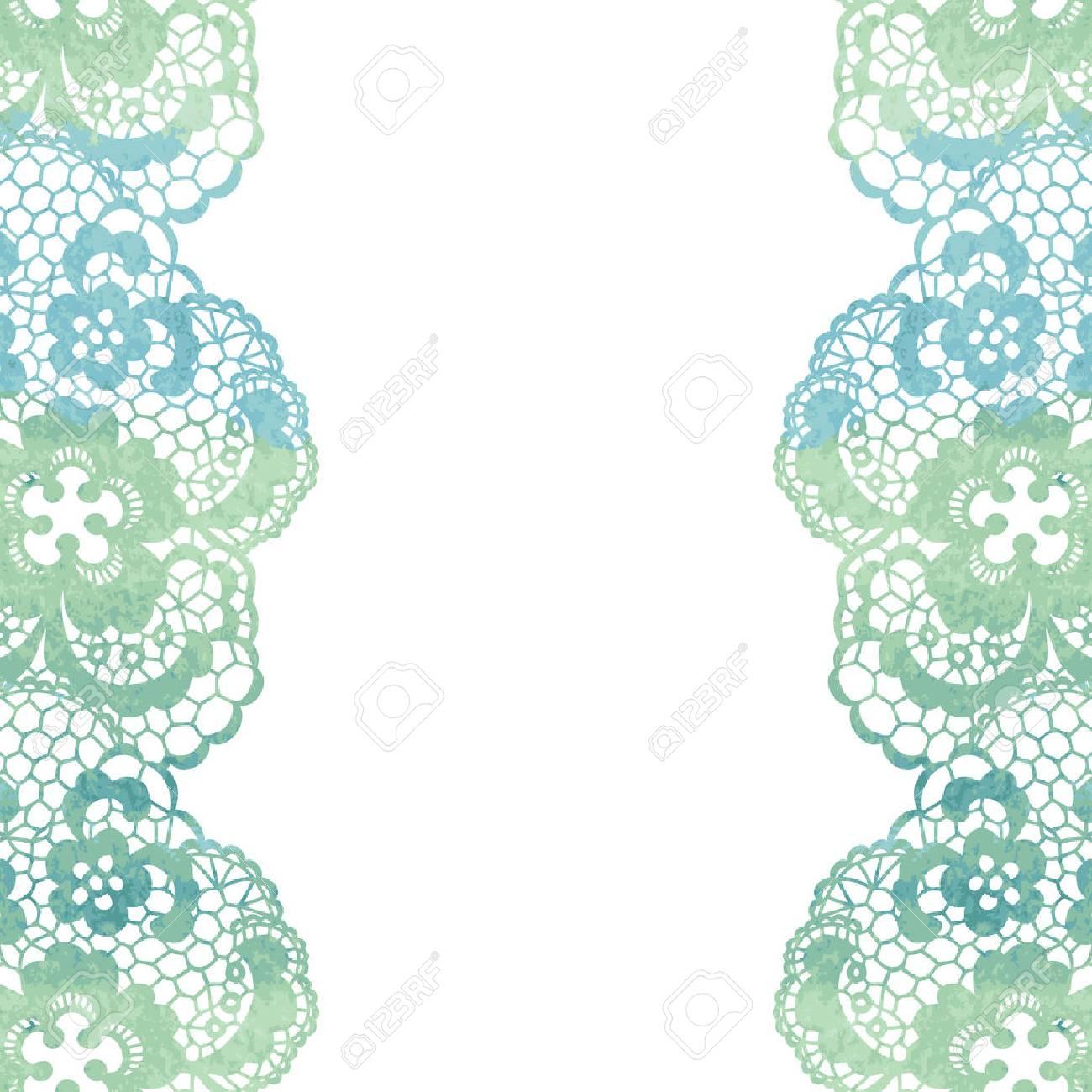 Lacy Elegante Marco. Tarjeta De La Invitación. Ilustración Del ...