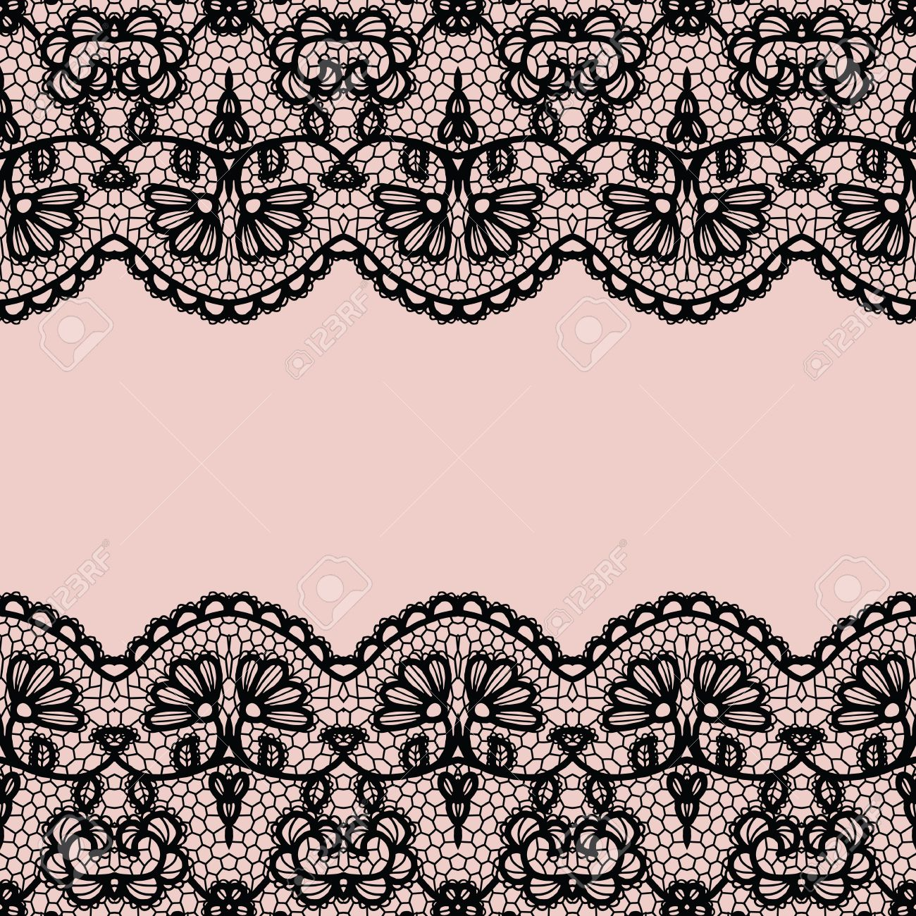 lace border vector illustration black lacy vintage elegant rh 123rf com gold lace border vector gold lace border vector
