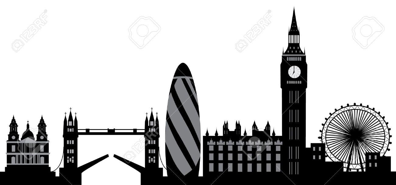 London Skyline Stock Vector