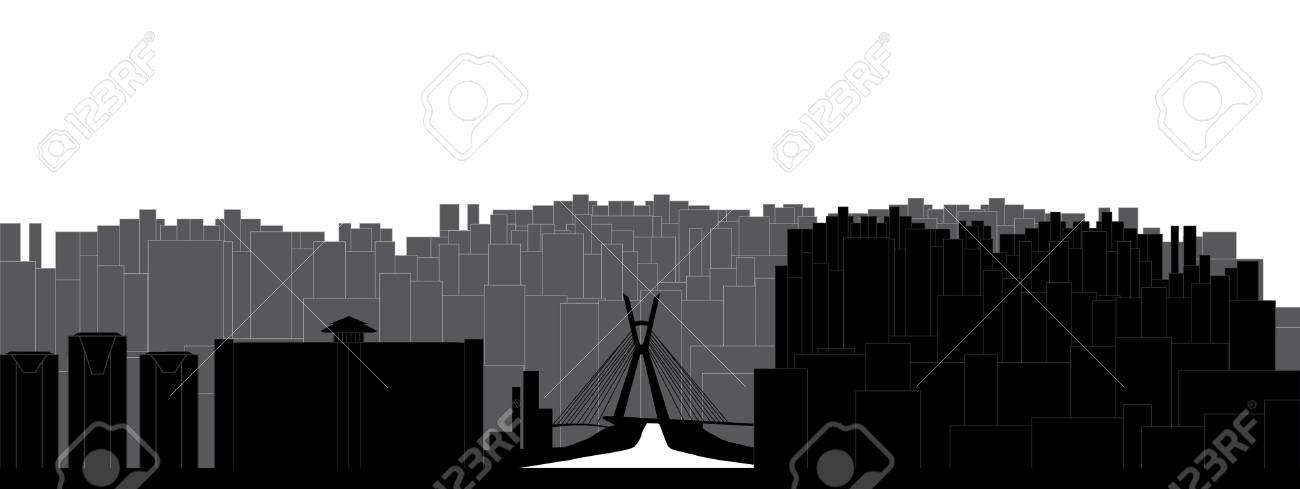 sao paulo skyline - 12273644