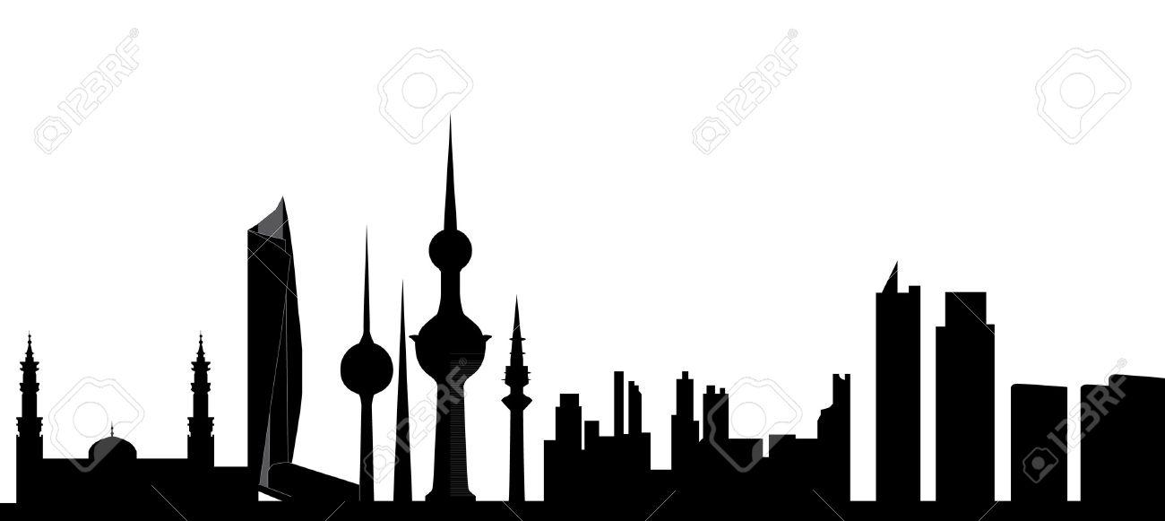 kuwait skyline - 13162393