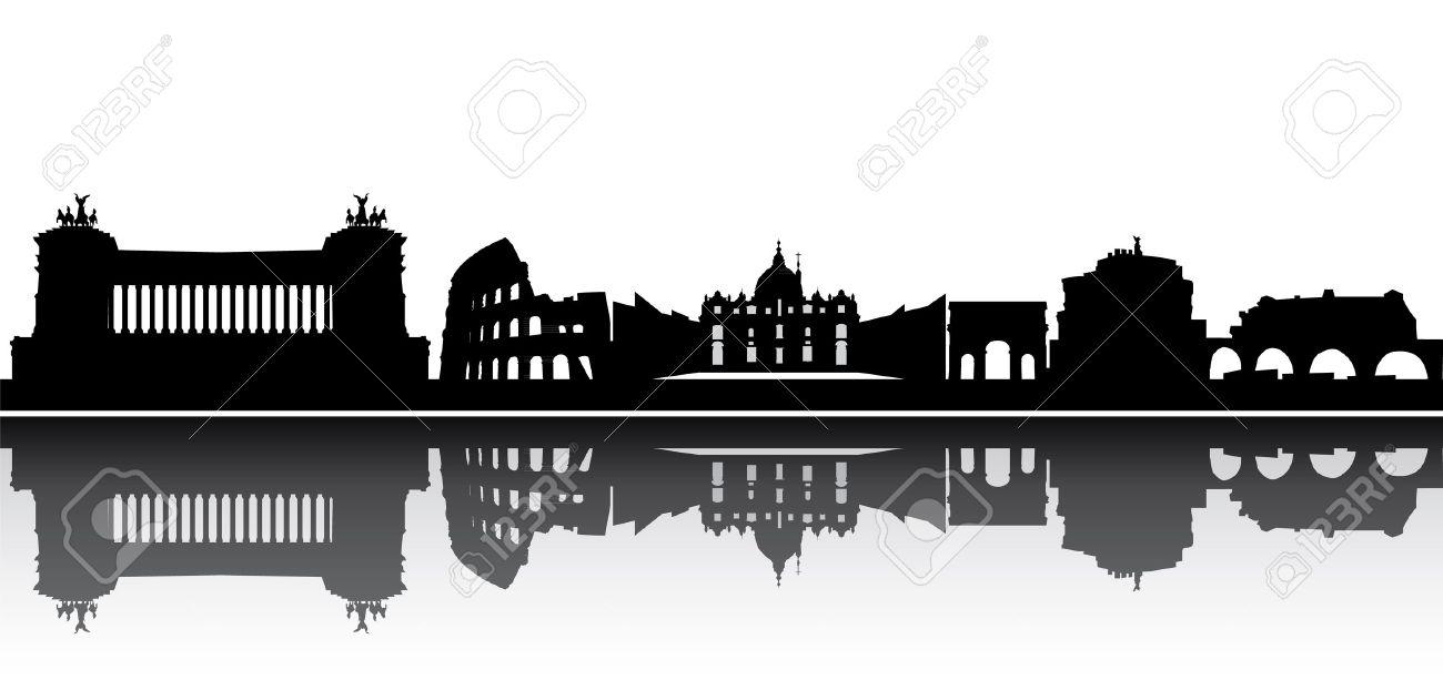 rome skyline - 13306882