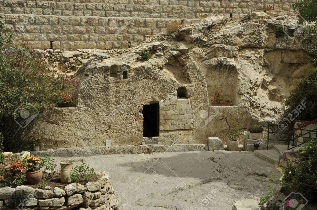 place of the resurrection of Jesus Christ in Jerusalem Israel - 13852689
