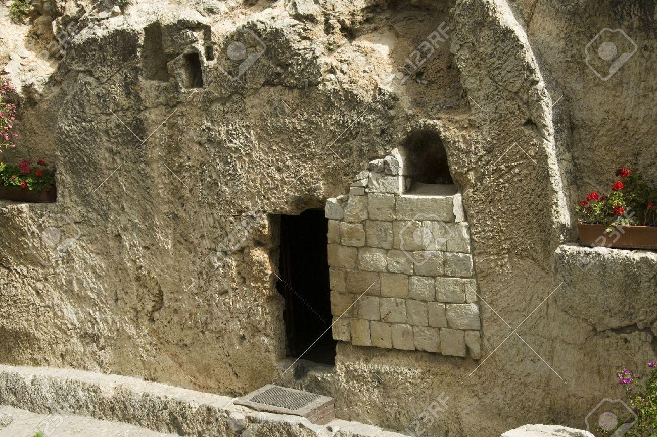 place of the resurrection of jesus christ in jerusalem Israel - 14560792