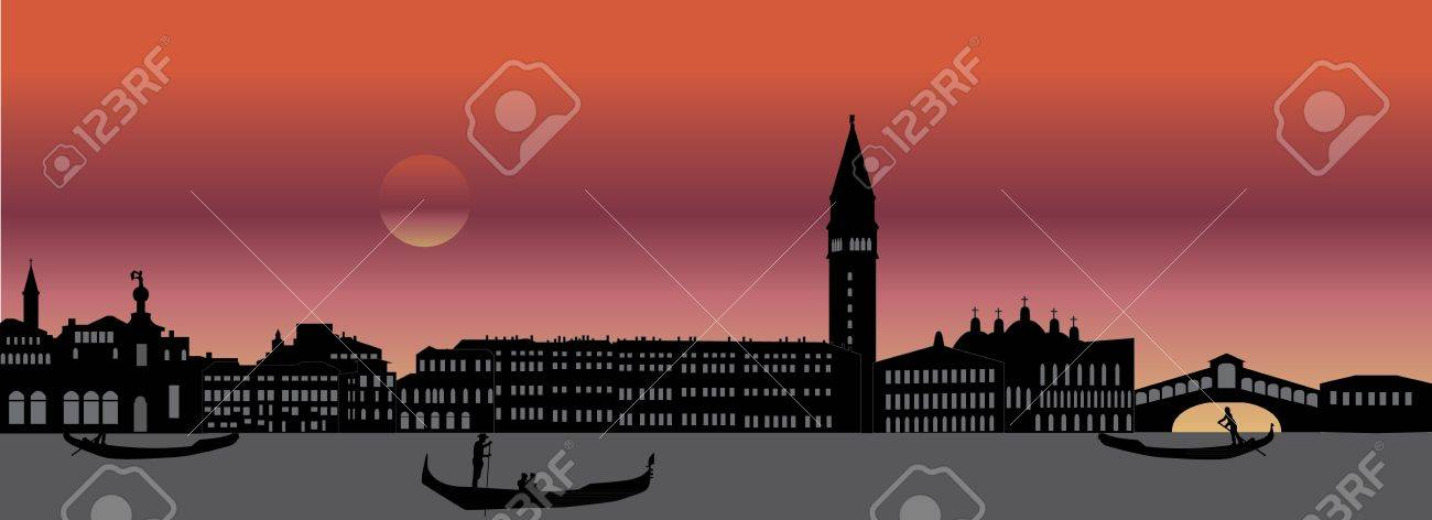 venice italian skyline - 15052350
