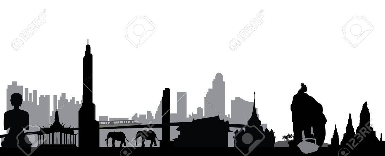 thailsn skyline - 15052433
