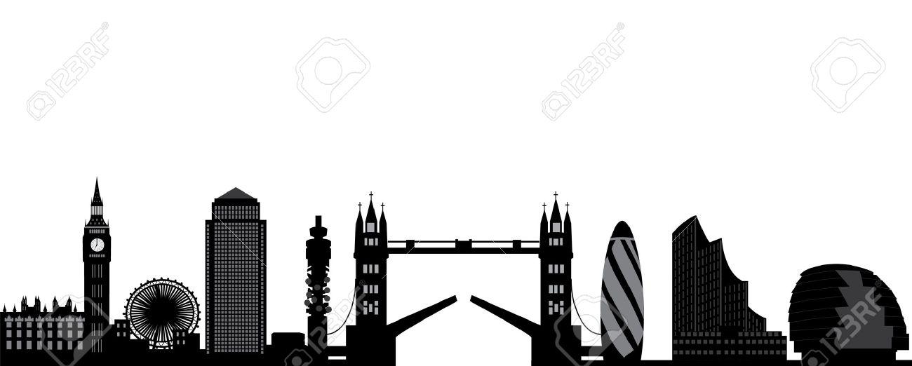 London skyline Stock Vector - 15801599