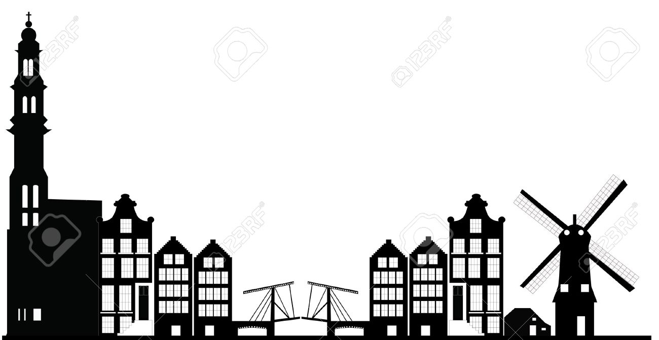 amsterdam skyline - 27258409