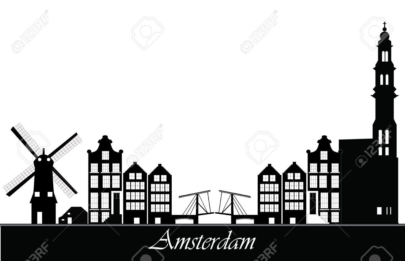 amsterdam skyline - 28037415