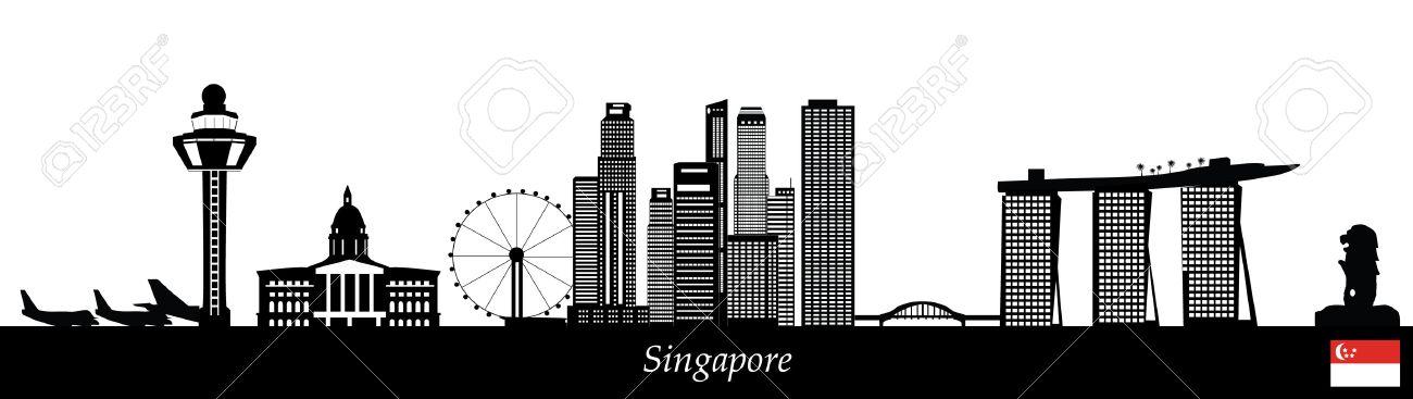 singapore skyline - 29675046