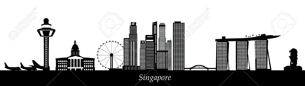 singapore skyline - 29675047
