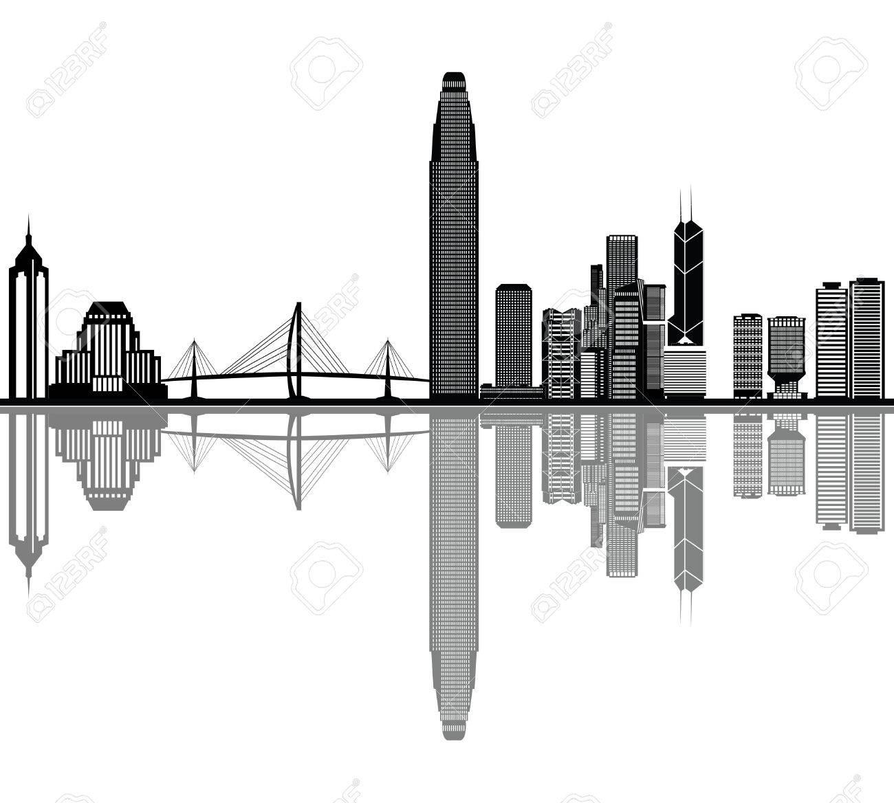 hong kong skyline - 29842784