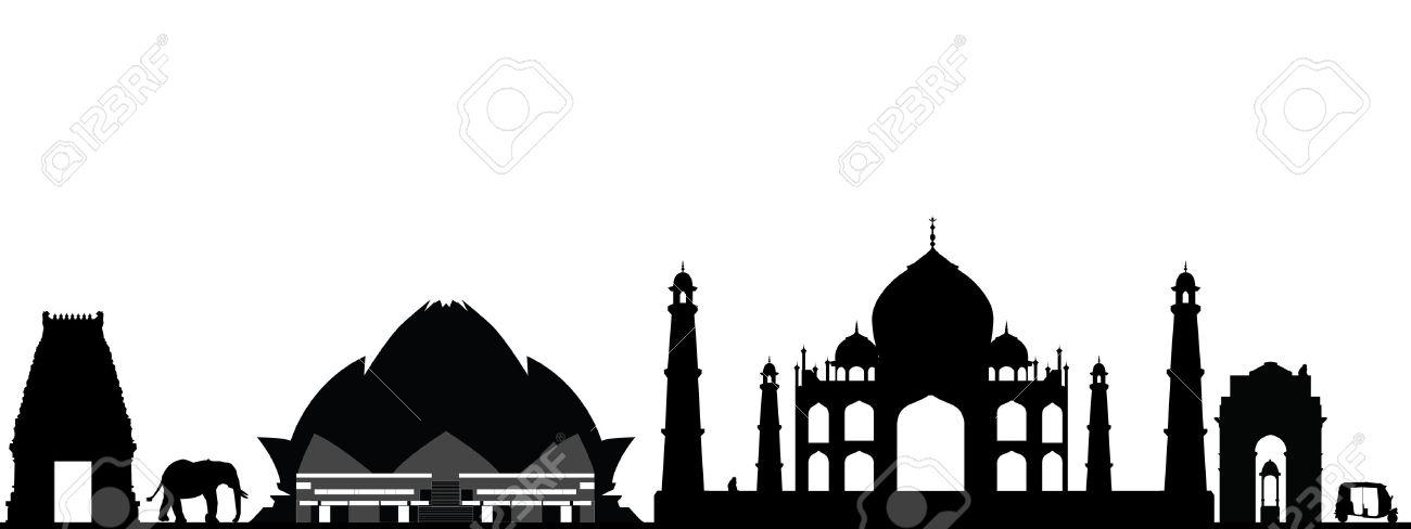 india new delhi skyline - 30567358