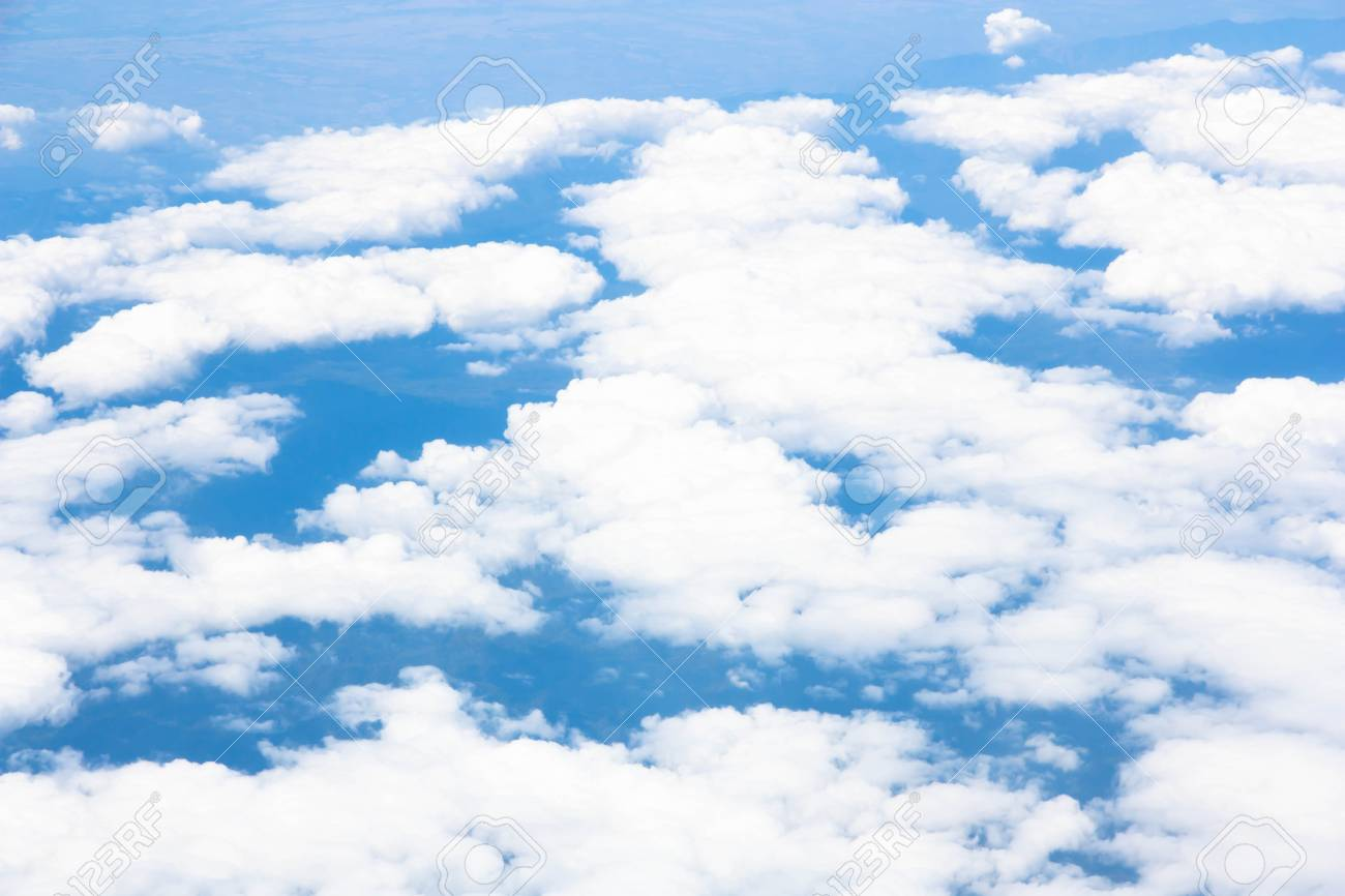 Blue sky with clouds Stock Photo - 19755462