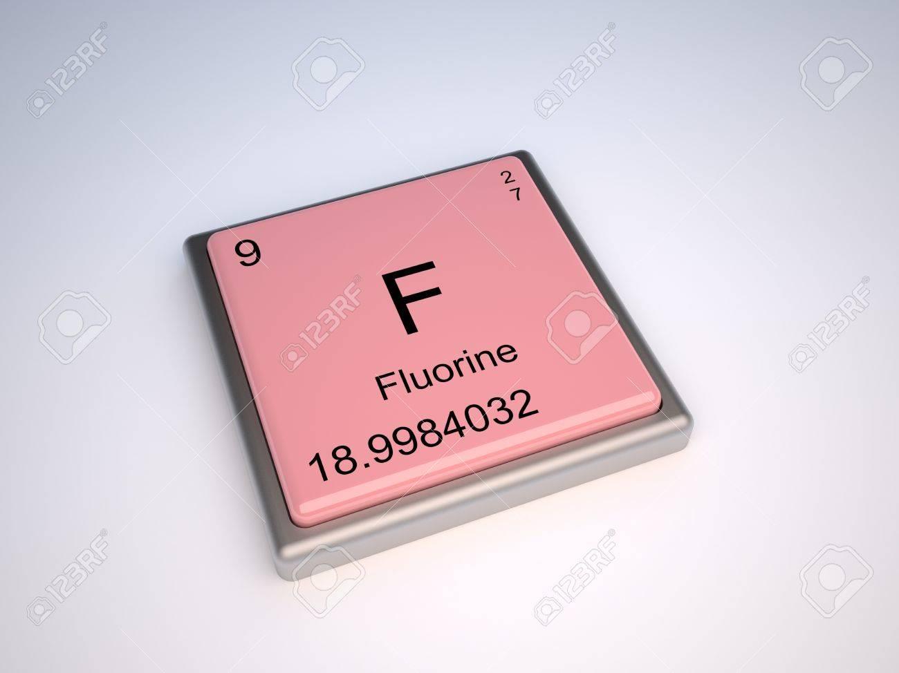 Elemento qumico de flor de la tabla peridica con smbolo f elemento qumico de flor de la tabla peridica con smbolo f iupac foto de archivo urtaz Gallery
