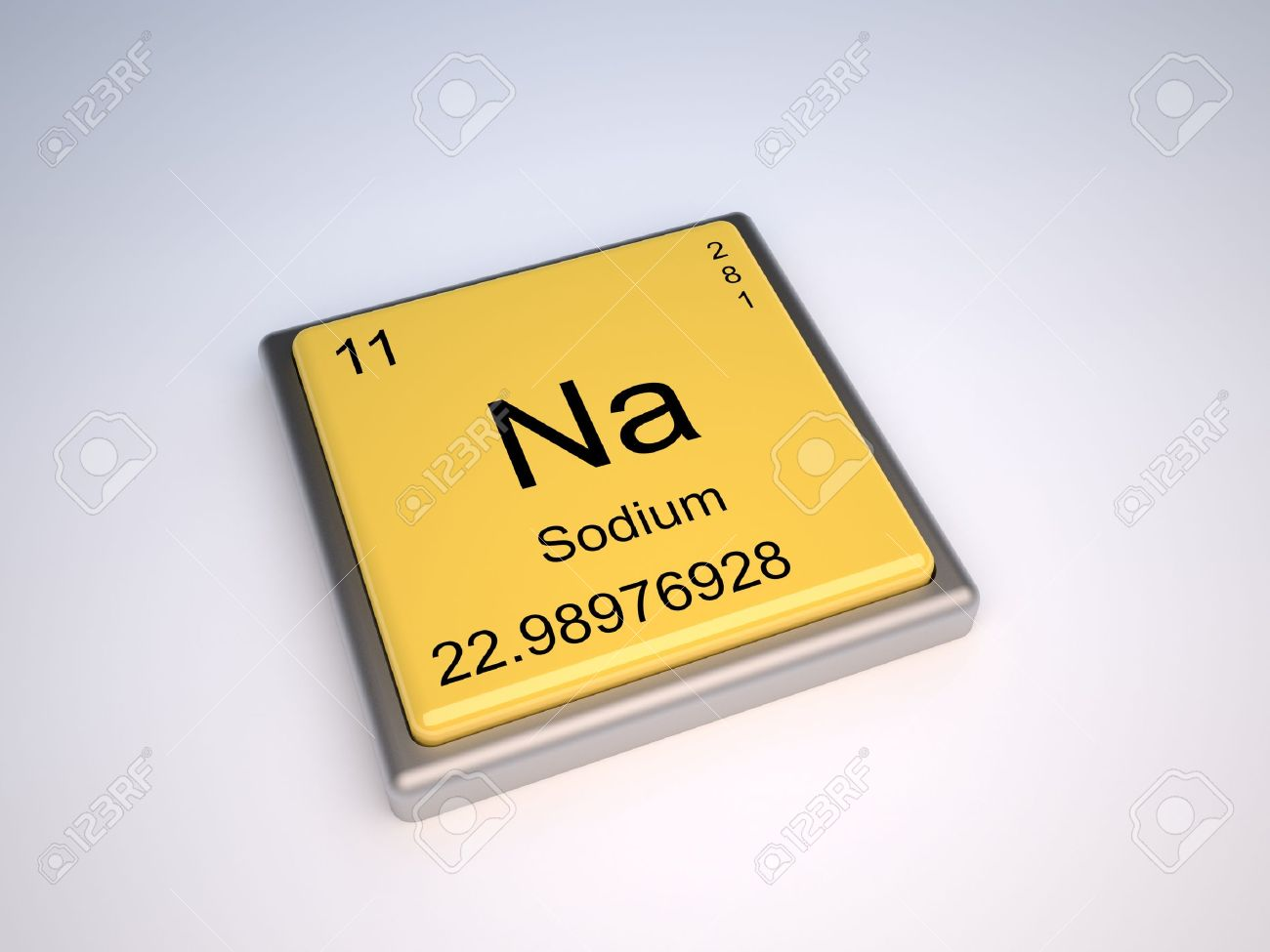 Sodium chemical element of the periodic table with symbol na stock sodium chemical element of the periodic table with symbol na stock photo 9257132 urtaz Gallery