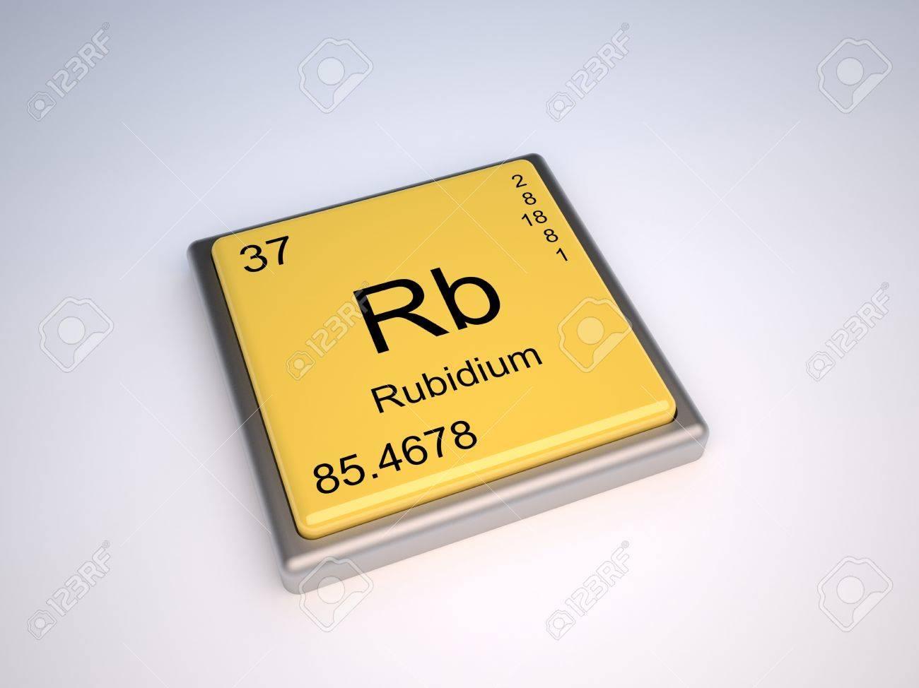 Rubidium chemical element of the periodic table with symbol rb stock rubidium chemical element of the periodic table with symbol rb stock photo 9257047 buycottarizona Choice Image
